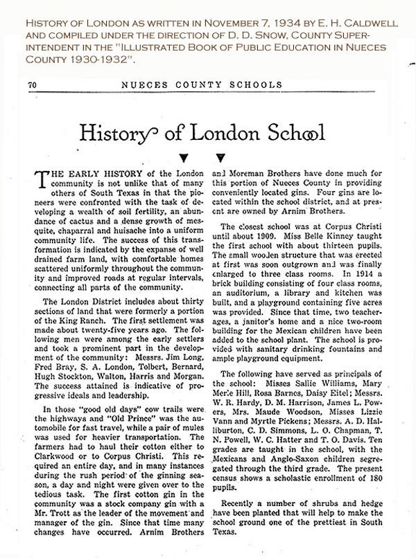 History of London Page 2