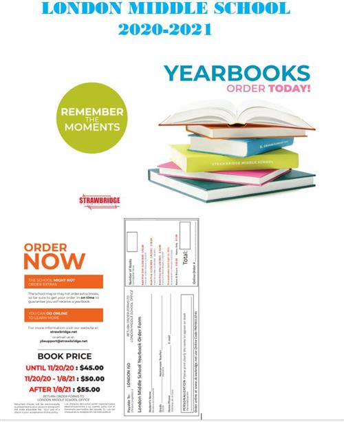 LMS Yearbook Order Form